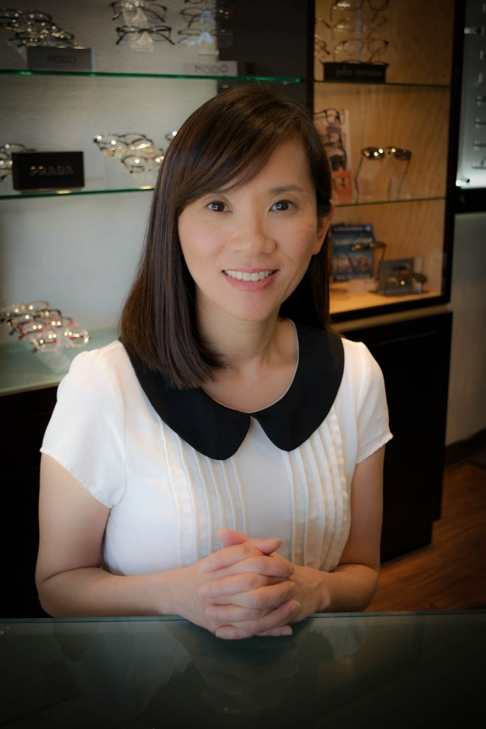 Picture of Optometrist Dr. Chiao in Long Beach